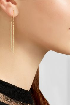 Carolina Bucci|18-karat gold earrings|NET-A-PORTER.COM