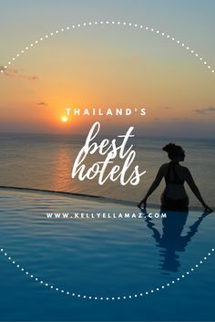 Thailand's best hotels! Heading to Thailand? Don't miss this article of the best hotels in Thailand. Re-pin this image for easy Thailand travel planning!