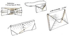 FASHION Design Croquis sketches Bags and belts!  more at fashionportfolioacademy.com
