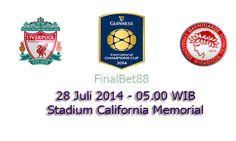 Prediksi Bola Liverpool Vs Olympiacos 28 Juli 2014