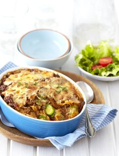Baby Marrow (Zucchini) & Mozzarella Bolognaise Bake! #EasyDinner #Knorr