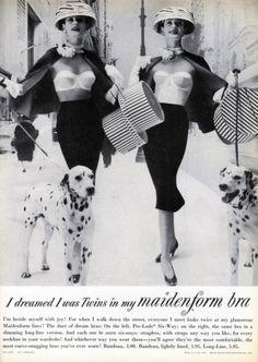 1950s Maidenform ad
