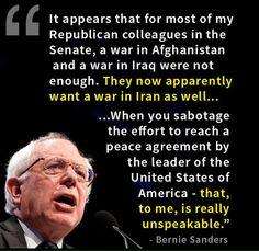 -Bernie Sanders