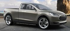 Tesla pick-up, not yet available