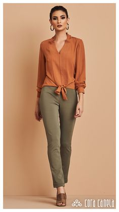 LOOKBOOK 6 – Cora Canela Curvy Fashion, Asian Fashion, Fashion Pants, Hijab Fashion, Boho Outfits, Casual Outfits, Look Casual, Pantalon Large, Sophisticated Dress