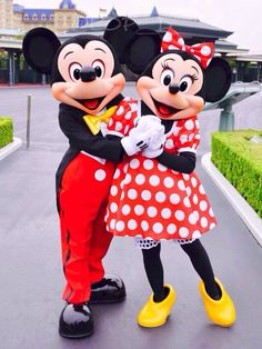 Mickey Mouse & Minnie Mouse at their very Best