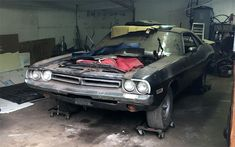 30 Years Stored 1971 Dodge Challenger