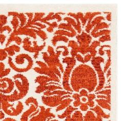 Safavieh Porcello Red/Ivory 2 ft. x 3 ft. 7 in. Area Rug PRL3714E-2 at The Home Depot - Mobile