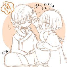 Akatsuki no Yona anime and manga Ryokuhaku Jaeki Jaeha and Kija