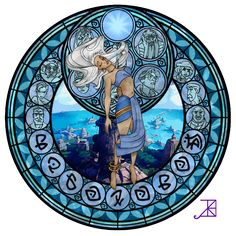 Cross Stitch Pattern for Kida Kingdom Hearts Princess