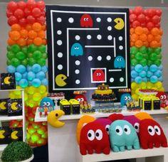 Fiesta 90s Retro Pac Man Party 80s Halloween