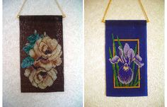beads woven mini tapestry