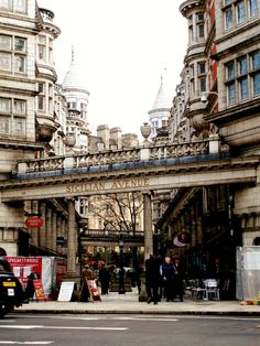 it's a small world after all... — Sicilian Avenue, London..