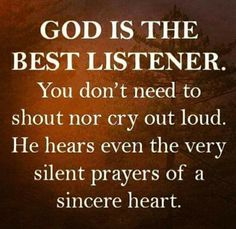 Silent Prayer, Good Listener, Out Loud, Christianity, Crying, Prayers, Encouragement, Wings, Jun