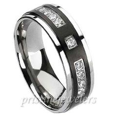 I like this for men's wedding ring