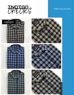 Casual Wear, Robin, Casual Shirts, Indigo, How To Wear, Men, Collection, Fashion, Casual Outfits