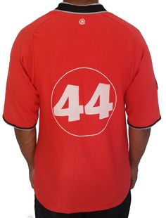 025ce51bb Orange Number 44 Baseball Jersey