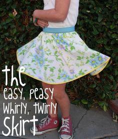 Tutorial: The Twirly Skirt