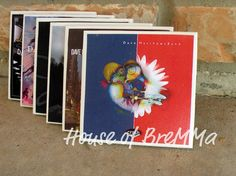 Dave Matthews Band Coasters set of 4 by HouseOfBremma on Etsy, $12.00