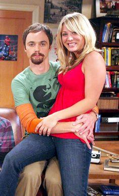 Behind the scenes. I love how he looks like evil Sheldon.
