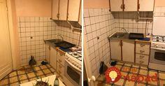 Keď mama odišla z bytu, synovia sa pustili do premeny jej staručkej kuchyne. Toto sa im podarilo spoločnými silami!