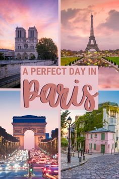 The Perfect Itinerary To See Paris In A Day