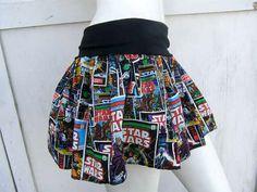 STAR WARS retro Comic Book Skirt