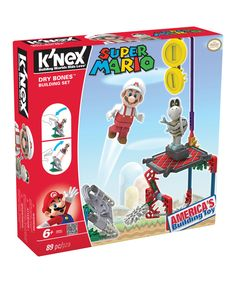 Look at this Super Mario Dry Bones Building Set on #zulily today!