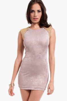 Domo Studded Dress $36 at www.tobi.com