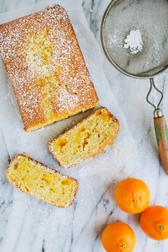 Clementine Vanilla Bean Quick Bread recipe. We feel sunnier just reading it.