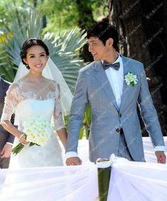 Taobao 2013 new long sleeves wedding dress