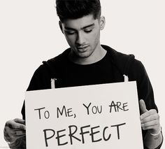 To me you're perfect too!!