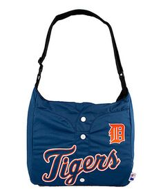 Another great find on #zulily! Detroit Tigers Jersey Tote #zulilyfinds