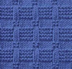 J'adore ! - Knitting Galore: Saturday Stitch: Tile Stitch