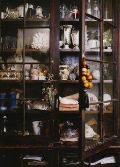 Nice cabinet/ totally want an apothecary room....with herbs and witchy stuffs