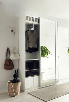 Hallway storage ikea pax wardrobe ideas for 2020 Hallway storage ikea pax wardrobe ideas for 2019 Ikea Wardrobe Storage, Ikea Closet Organizer, Ikea Pax Wardrobe, Hallway Storage, Bedroom Wardrobe, Ikea Hallway, Pax Closet, Wardrobe Closet, Hallway Ideas