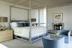Beach Contemporary bedroom. What do you think? #home #design