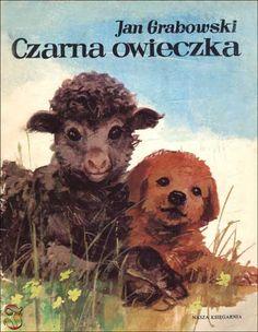 """Czarnaowieczka"" - Jan Grabowski,  Maria Orłowska-Gabryś Central And Eastern Europe, My Childhood Memories, Book Cover Design, Retro Design, My Children, Poland, Childrens Books, Nostalgia, Folk"