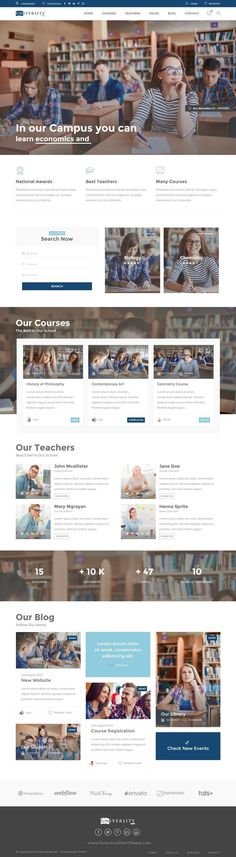 Education is excelent responsive HTML theme designed for schools that organize…