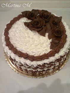 Druh receptu: Sladkosti - Page 74 of 325 - Mňamky-Recepty. Y Recipe, Eastern European Recipes, Russian Recipes, Pavlova, Food Dishes, Fondant, Cake Recipes, Cake Decorating, Food And Drink