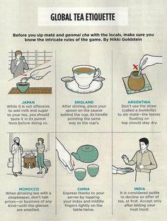 global tea etiquette from Meditations on Medicine blog