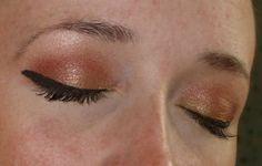 FOTD: Fool's Gold and Eyeshadow of the Month: Tres Magnifique
