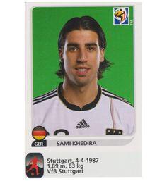 Panini WM 2010 Sami Khedira Update Sticker, Stickerpoint