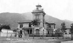 """Quinta """"Villa María"""" del señor Emiliano Otero años 20. Era una de las bellas de la ciudad.  Fue demolida para construir el llamado Palacio Rosa."""
