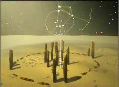 The earliest known stone circle at Nabta Playa in Egypt's Western Desert... thought to act as a calendar with markers corresponding to the stars in Orion's belt. Constructed around 7000 BCE.