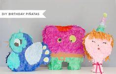 DIY Birthday Pinatas