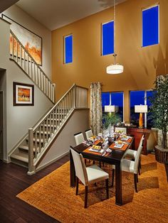 Dining Room/Staircase/Windows