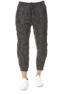 This is the 'Iron Gate Cupra Pull On Pant by stunning brand Johnny Was. They feature large leg pockets and a slim fit on the ankle for added texture and style. SHOP NOW! Leggings Style, Leggings Fashion, Leopard Dress, Pink Leopard, Johnny Was Clothing, Grey Wash, Pull On Pants, Striped Shorts, Yellow Dress