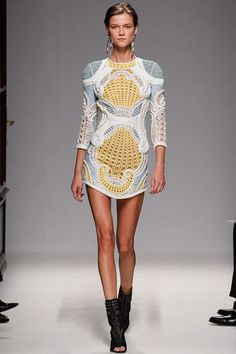 Balmain Spring 2013 Ready-To-Wear collection in Paris. #Balmain #PFW #owitY