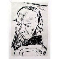 Max Bechmann - Bildnis Dostojewskis
